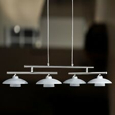 Wofi lampes suspendues SANTA FEE 4 BRAS nickel Boom réglable VERRE ALBÂTRE