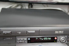 JVC SR-VS30U-VS30 MiniDV Mini DV SVHS ET Player Recorder Dual Deck VCR HR-DVS3U