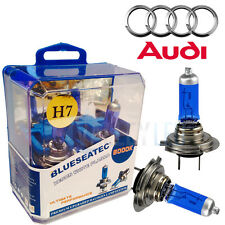 Audi Xenon White H7 55w Halogen Dipped Headlight Bulbs 6000k (PAIR)
