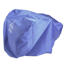 For 2 Bicycles Rain Waterproof Cover All Weather Dust Resistant UV Protection