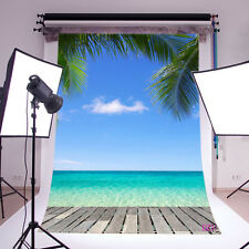 Vinyl Studio Seaside Scenic Backdrop Photography Photo Background 3x5ft DZ31
