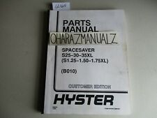 Hyster Heavy Equipment Manuals & Books for Forklift for sale ... on