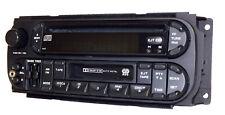 2002-2006 Jeep Chrysler Dodge AMFM CD Cassette Radio w Aux Input P05064042AB RAZ