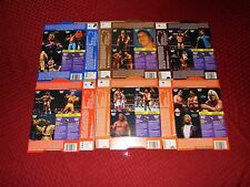 Mega Rare! 1988 WWF CANADIAN QUAKER DIPPS Complete 18 Card Set UNCUT ON BOXES
