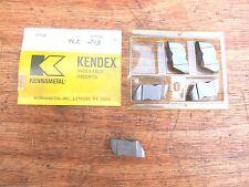 Kennametal NR48R K68 carbide inserts (5)