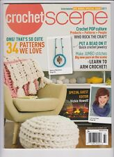 CROCHET SCENE MAGAZINE 2017, INTERWEAVE BIG BONUS SPECIAL ISSUE.