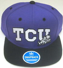 TCU Horned Frogs Multi-Color Structured Snap Back Hat By adidas