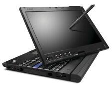 "Lenovo X201 Tablet i7 2.00GHz 4Gb RAM 120Gb SSD Win 10 12.5"" Touchscreen"
