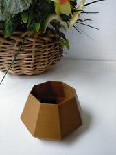 Octagonal 00004000  Cute Mini Succulent Planters Pot, Flower Window Decor Usa 3D Printed