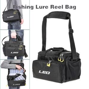 Multifunctional Fishing Lure Reel Bag Carp Fishing Shoulder Storage Bag Case