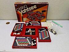 Vintage CASINO YAHTZEE BOARD GAME Milton Bradley 1986