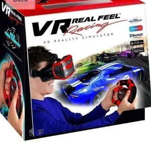 VR Real Feel Virtual Reality Car Racing 3D Reality Simulator with Bluetooth  NEW
