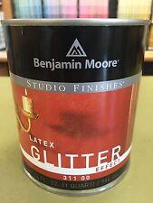 Benjamin Moore Studio Finishes Pearlescent White/Gold/Bronze/Glitter Quart