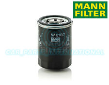 Mann Hummel OE Quality Replacement Engine Oil Filter W 610/7