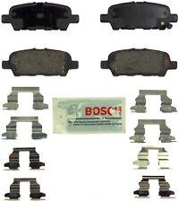 Disc Brake Pad Set-Blue Brake Pads with Hardware Rear Bosch BE905H