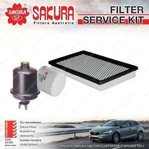 Sakura Oil Air Fuel Filter Service Kit for Honda Civic EK EM CRV RD HR-V FH