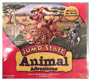 Brand New Jumpstart Animal Adventures Pc XP Discover Over 40 Wild Animals