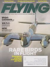 Flying Magazine (August 2013) (DH.98 Mosquito, ADS-B, Mid-Airs, Eurocopter X-3)