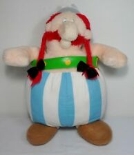 ASTERIX VTG 13'' OFFICIAL OBELIX PLUSH SOFT DOLL FIGURE FROM PARK ASTERIX