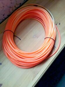 5mm Orange Tubing for tying Flying Condom Salmon Flies 5 metre, and 10 metre
