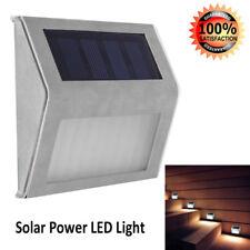 3LED 2V Solar Powered Waterproof Outdoor Garden Corridor Stair Light Wall Lamp