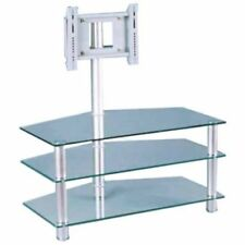 Meuble table de TV en Verre trempé 8 mm + allu . MTVAV36