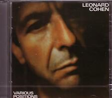 CD (NEU!) LEONARD COHEN: Various Positions (Hallelujah Dance me to the end mkmbh