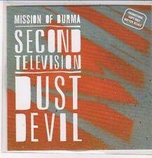 (DC467) Mission of Burma, Second Television - 2012 DJ CD