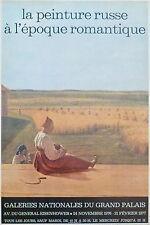 Alexey Venetsianov affiche La peinture russe a l'epoque romantique 1976- p 737
