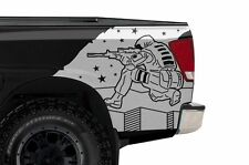 Custom Vinyl Rear Decal Sniper Wrap Kit for Nissan Titan Truck 04-13 Matte White