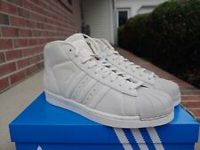 New Adidas Pro Model Shell Toe Men's Sz 10 Clear Brown Superstar