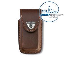 Victorinox Swiss Army Knife Belt Sheath/Pouch - Brown Leather 4.0535