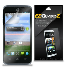 3X Ezguardz Lcd Screen Protector Skin Hd 3X For Zte Rapido Lte (Ultra Clear)
