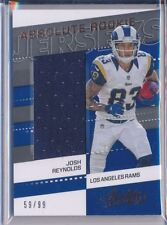 JOSH REYNOLDS - 2017 Absolute Rookie Jersey Patch /99 -Los Angeles Rams RC