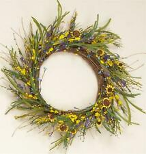 "Forsythia spring flower mix 21 "" Wreath / Nice"