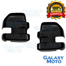 15-17 Ford F150 Gloss Black Painted Full Towing Mirror Cover -1 Pair 2017 Truck