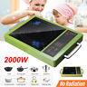 Electric Induction Glass Ceramic Stove Cooker Cooktop Plate Burner Kitchen 2200W