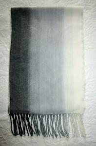 CALVIN KLEIN LONG SOFT SCARF with FRINGE * NWT-$38