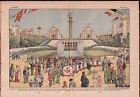 Exposition Paris Palais de Chaillot place du Trocadéro France 1937 ILLUSTRATION