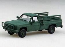 HO 1:87 Trident # 90004  Military US/NATO Open Troop Carrier Pickup - Chevy Grn