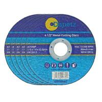 10 x ULTRA THIN METAL CUTTING / SLITTING DISCS 115mm 4.5 INCH FOR ANGLE GRINDER