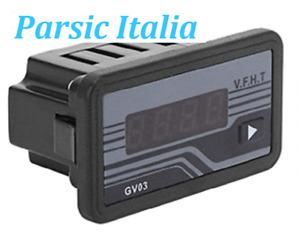 GV03 VOLTMETRO DIGITALE PER GRUPPO ELETTROGENO, TENSIONE DI ESERCIZIO 230-380V