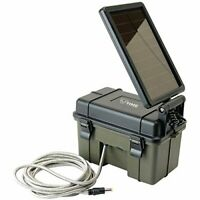 Hme Hme-12vbbslr 12-volt Battery Box With 2-watt Solar Panel (hme12vbbslr)