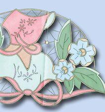 "1930s Betty Burton Embroidery Transfer Uncut Cutwork Garden Gal Pillowcases ""C"""