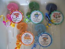 12 Nick Jr Team Umizoomi Gourmet 3rd Birthday Party Favors with custom tags