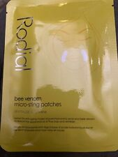 RODIAL Bee Venom Micro-sting Patches 1 Sachet Of 2 Patches NEW