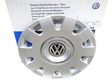 4x Originale VW Copricerchi Coprimozzo Decorativo 15 Pollici Passat 3B5071455