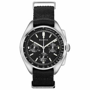 """BULOVA LUNAR Pilot 96A225 """"Moon Watch"""" Special Edition"""