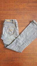 Seven 7 Womens Boot Cut Jeans Stretch Blue Premium Denim Measure 28 X 29