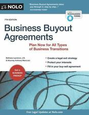 Business Buyout Agreements : Plan Now for Retirement, Death, Divorce, or...